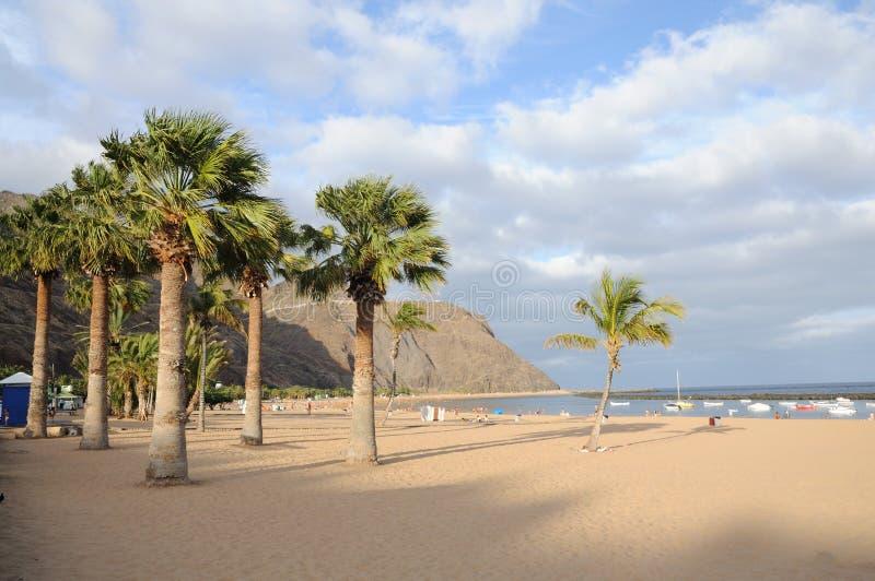 Playa de Las Teresitas, Tenerife Spain. Playa de Las Teresitas, Canary Island Tenerife, Spain royalty free stock photo