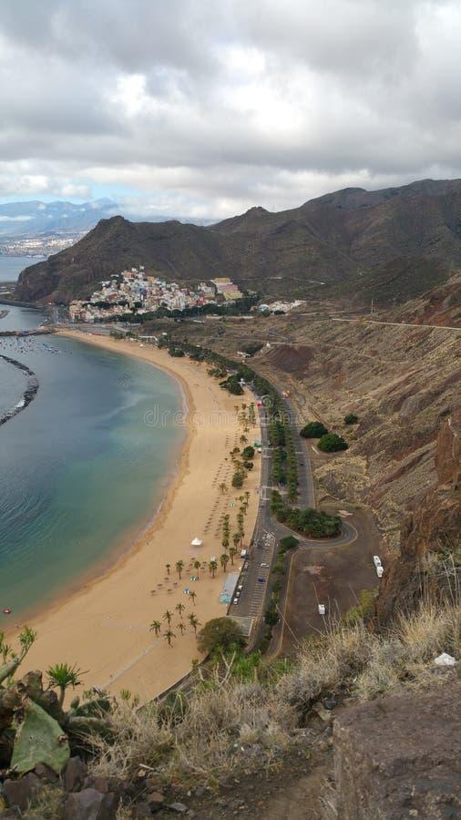 Playa De Las Terresitas obrazy royalty free