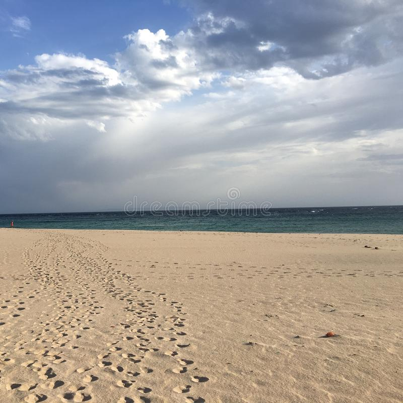 Playa de los alemanes royaltyfri fotografi