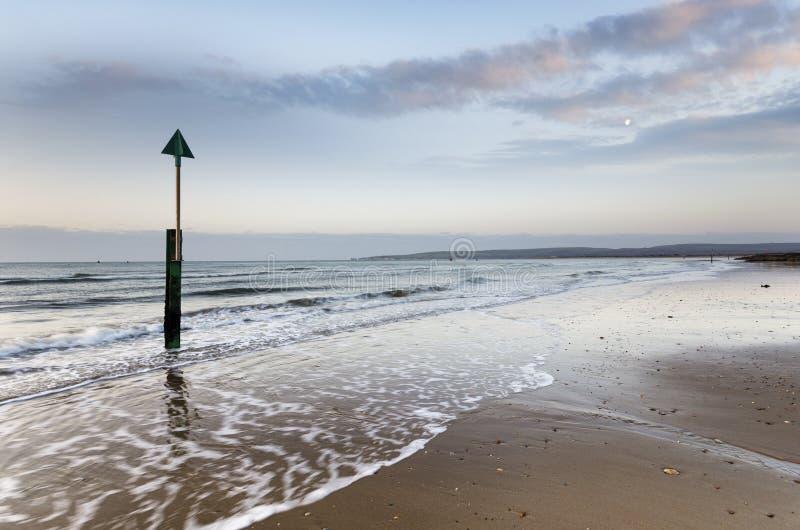 Playa de los bancos de arena fotos de archivo
