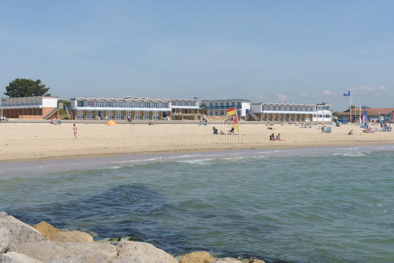 Playa de los bancos de arena imagen de archivo
