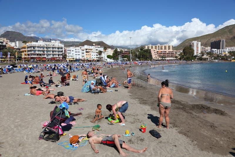 Download Playa De Los Cristianos, Tenerife Editorial Photo - Image: 19124076