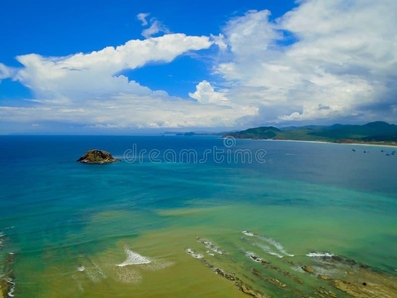Playa De los Frailes in Ecuador stockbild