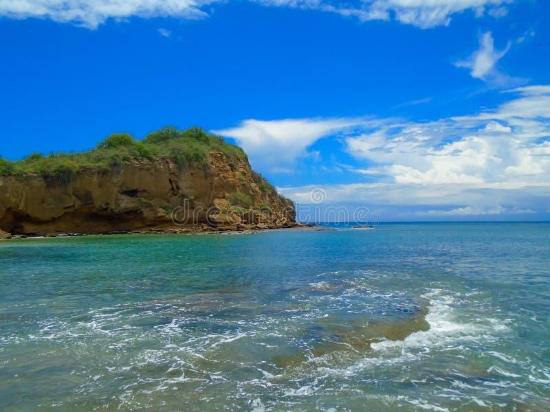 Playa De los Frailes in Ecuador lizenzfreies stockbild