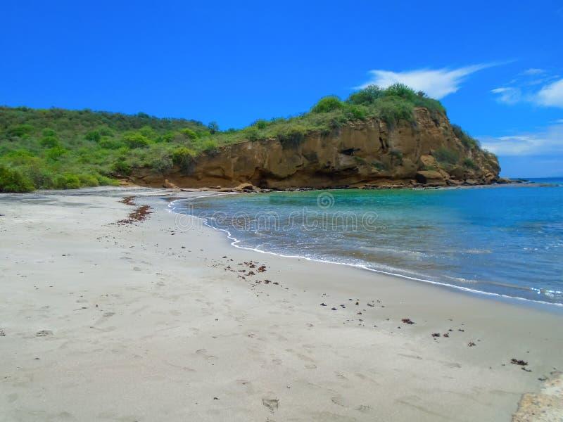 Playa De los Frailes in Ecuador stockfoto