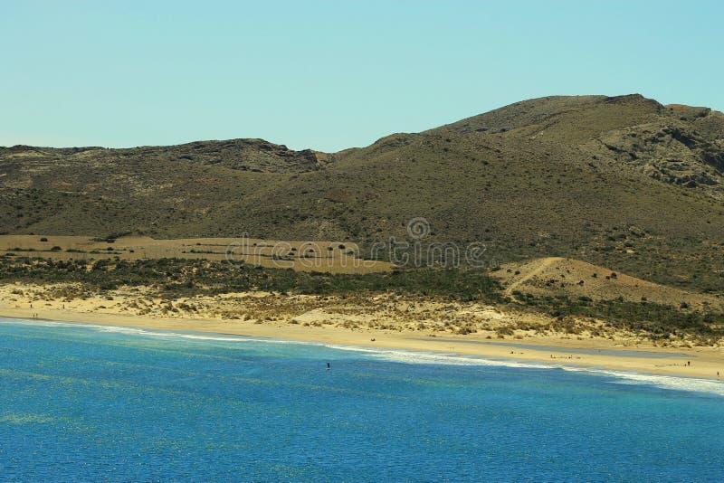 Playa de los Genoveses, Espanha foto de stock royalty free