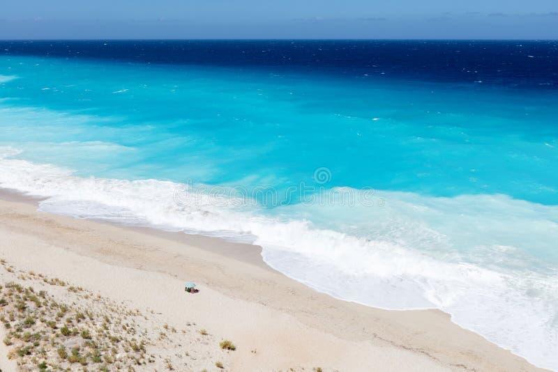 Playa de los Milos imagenes de archivo