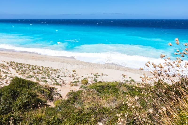 Playa de los Milos fotografía de archivo libre de regalías