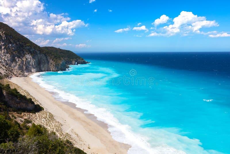 Playa de los Milos fotografía de archivo
