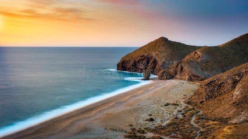 Playa de los muertos royalty free stock photos
