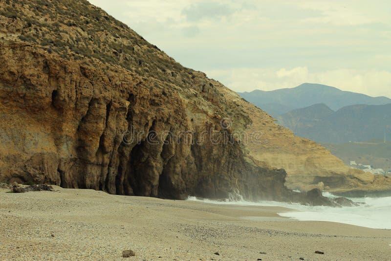 Playa DE los Muertos, Spanje royalty-vrije stock foto