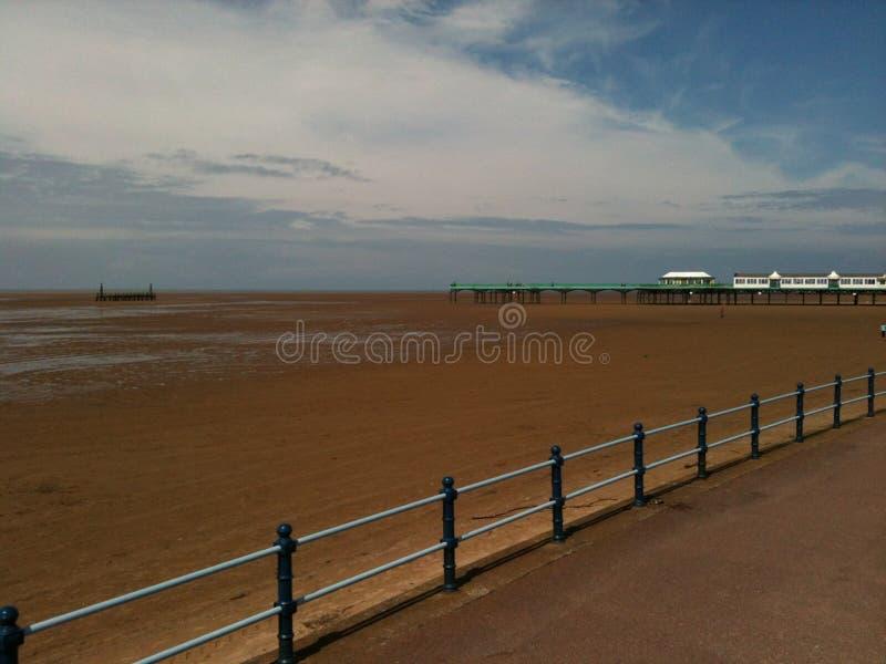 Playa de Lytham foto de archivo libre de regalías
