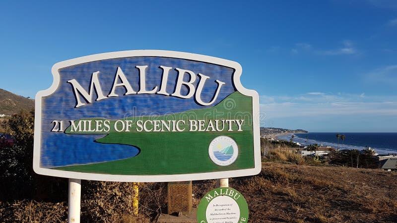 Playa de Malibu foto de archivo libre de regalías