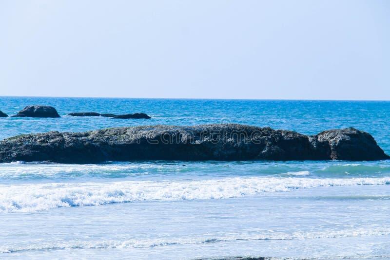 Playa de Mangalore en su mejor fotos de archivo