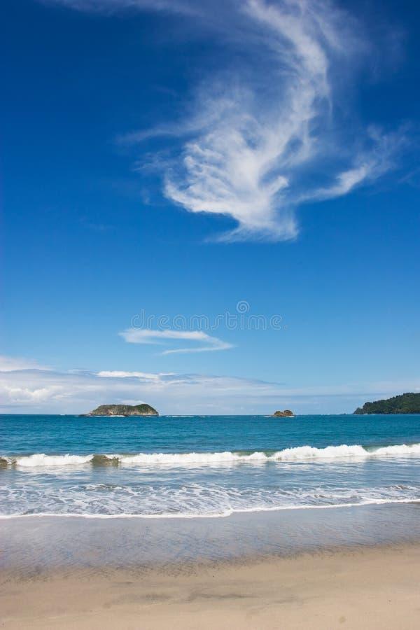 Playa de Manuel Antonio imágenes de archivo libres de regalías