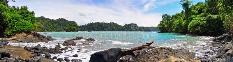 Playa de Manuel Antonio, Costa Rica imágenes de archivo libres de regalías