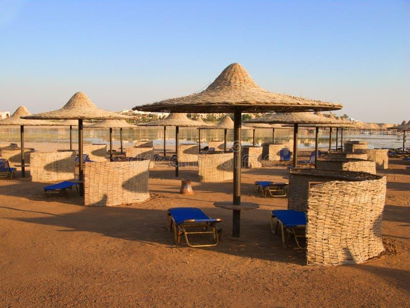 Playa de Marsa Alam foto de archivo libre de regalías