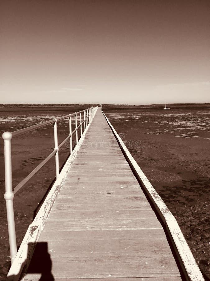 Playa de McLoughlins, Victoria, Australia fotografía de archivo libre de regalías