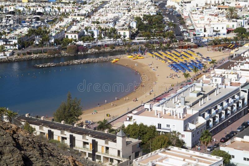 Playa de Mogan fotografía de archivo