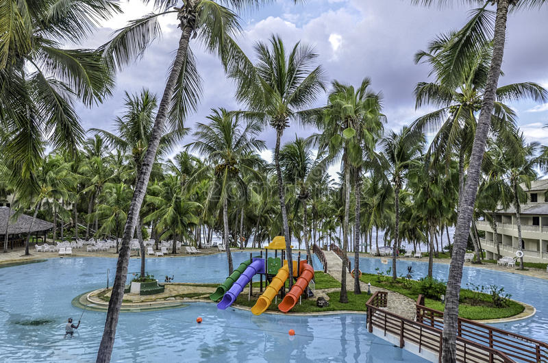 Playa de Mombasa Kenia imágenes de archivo libres de regalías