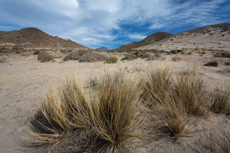 Playa de Monsul 库存图片