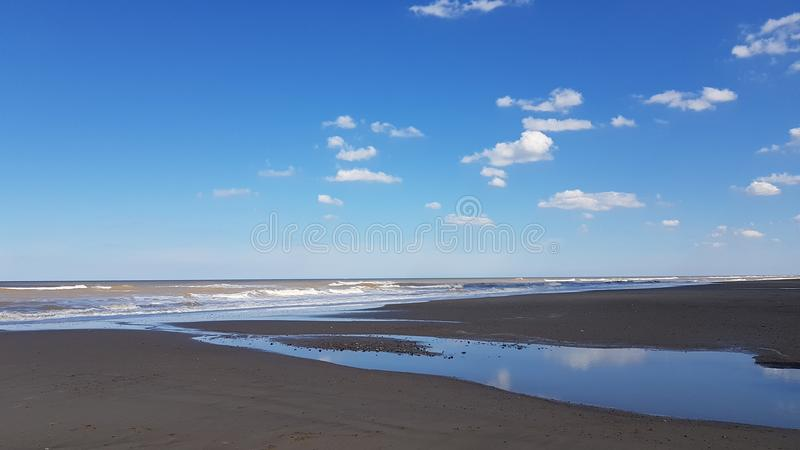 Playa de Mundelsley imagenes de archivo