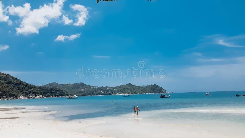 Playa de Nai Pan Yai de la correa fotos de archivo libres de regalías