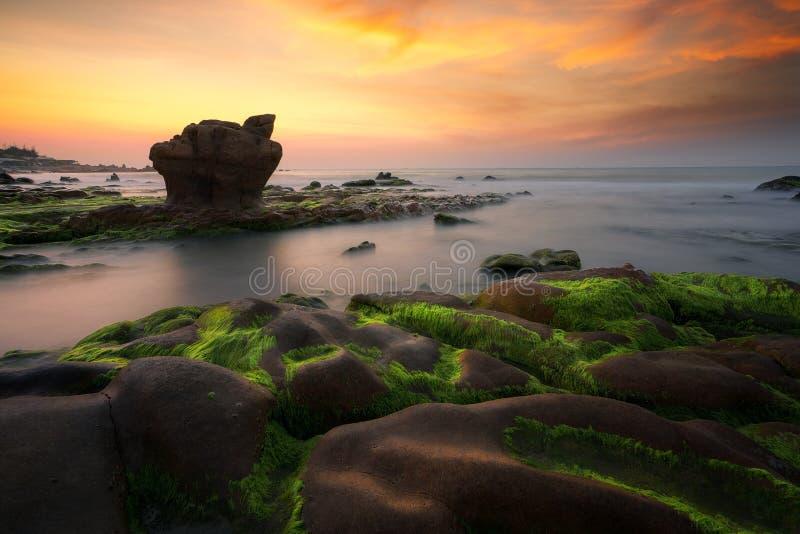 Playa de Nam O foto de archivo libre de regalías