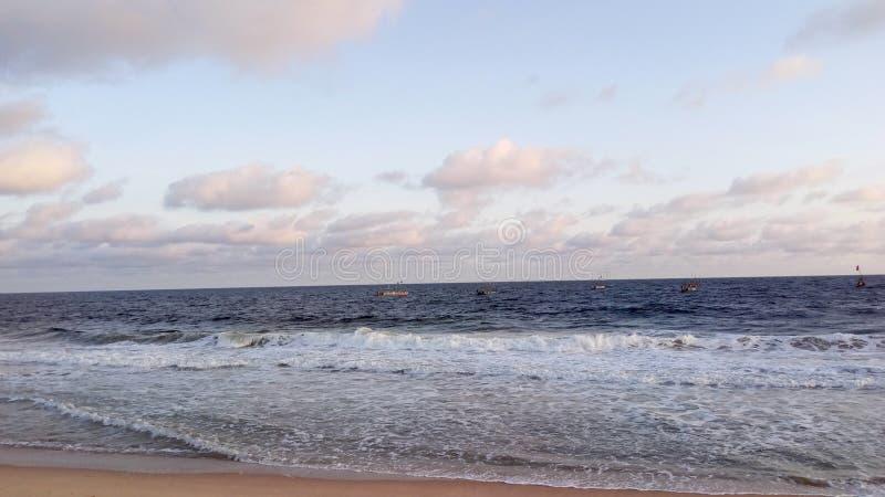 Playa de Orimendu imágenes de archivo libres de regalías