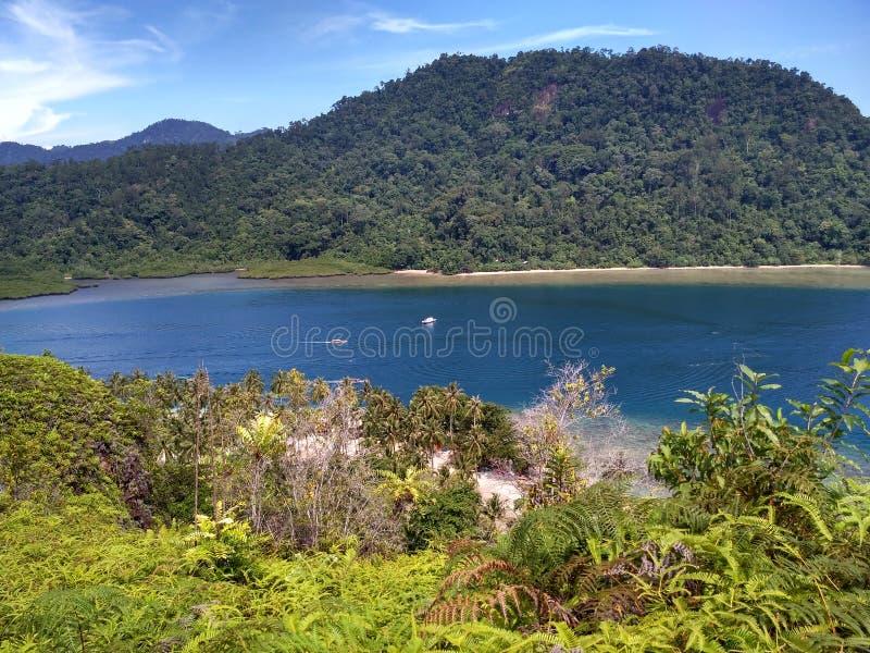 Playa de Pasumpahan fotos de archivo libres de regalías