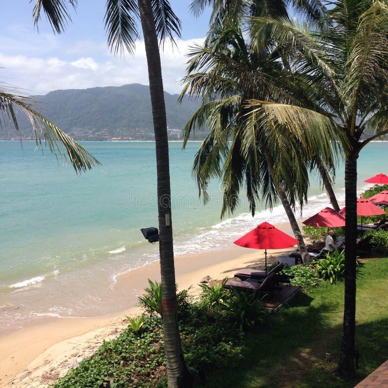 Playa de Patong en Phuket Tailandia Asia imagen de archivo libre de regalías