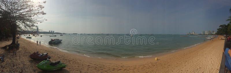 Playa de Pattaya imagenes de archivo