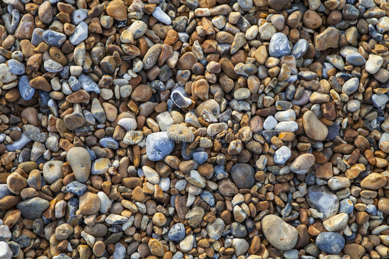 Playa de Pebbled fotos de archivo