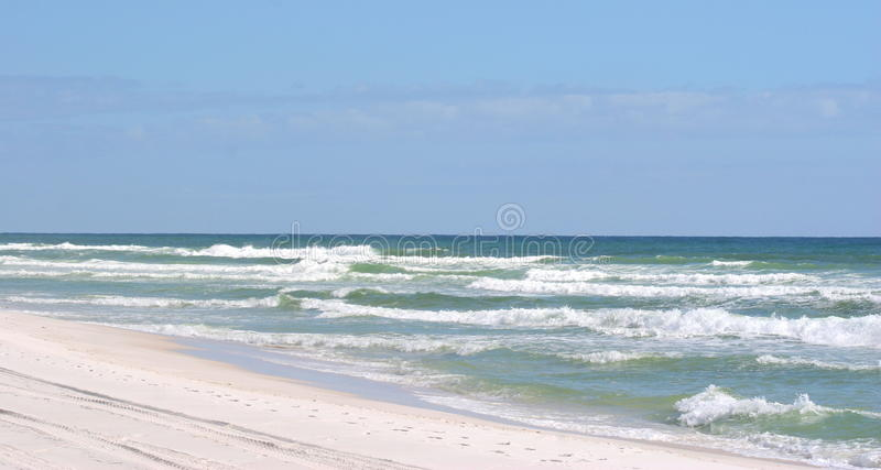 Playa de Pensacola fotografía de archivo