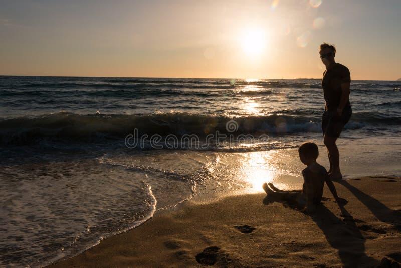 Playa de Phalassarna imagen de archivo