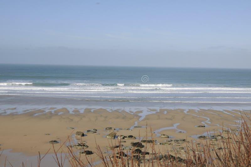 Playa de Porth imagenes de archivo