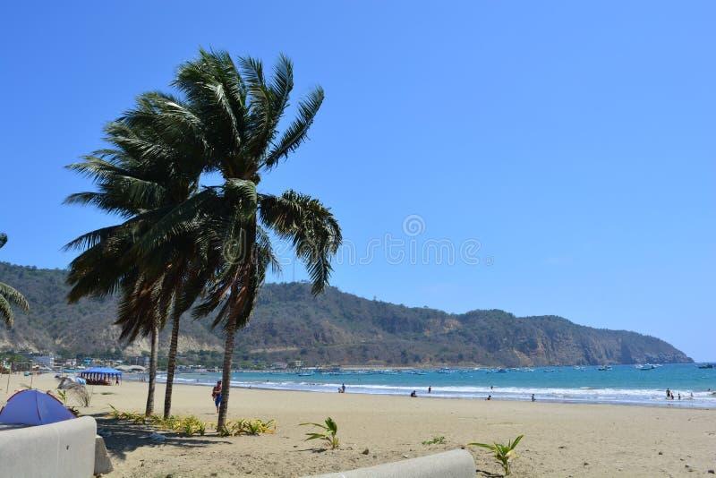 Playa de Puerto López, Ecuador imágenes de archivo libres de regalías