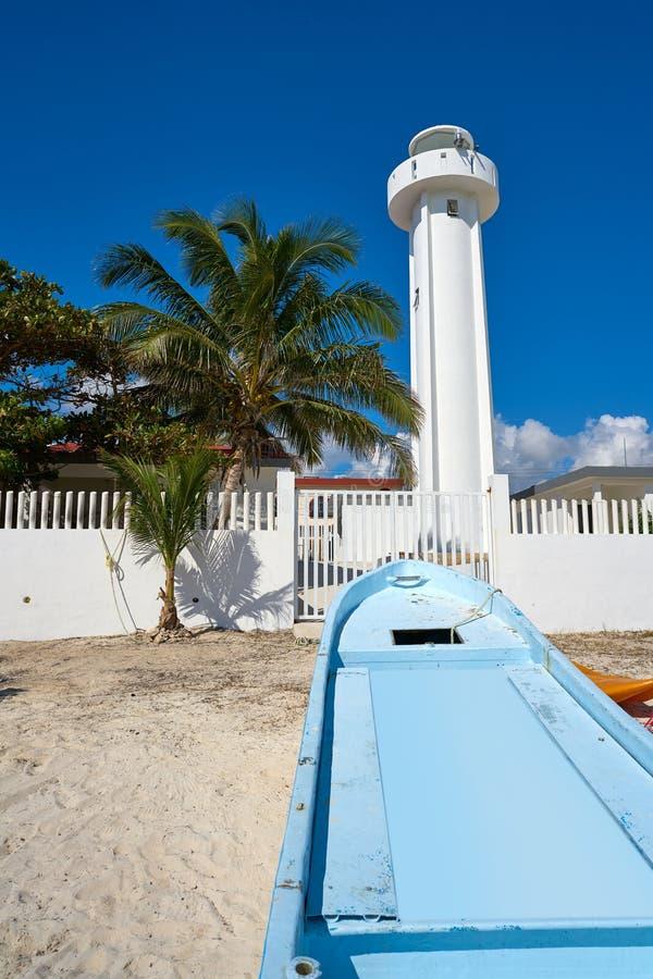 Playa de Puerto Morelos en Riviera maya imagen de archivo libre de regalías