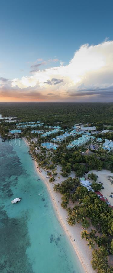 Playa de Punta Cana fotos de archivo libres de regalías