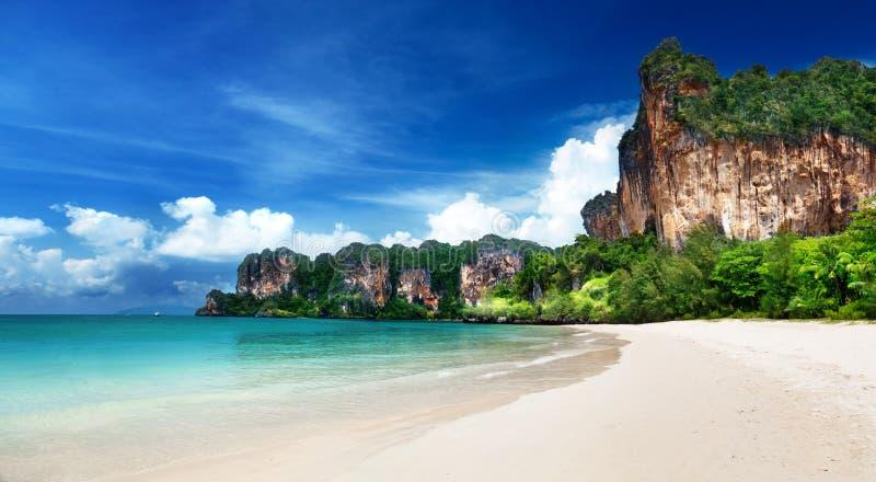 Playa de Railay en Krabi Tailandia foto de archivo