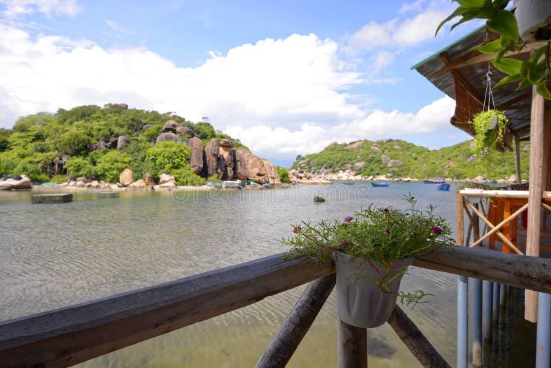 Playa de Ranh de la leva, Khanh Hoa, Vietnam - 9 de octubre de 2016 imagenes de archivo