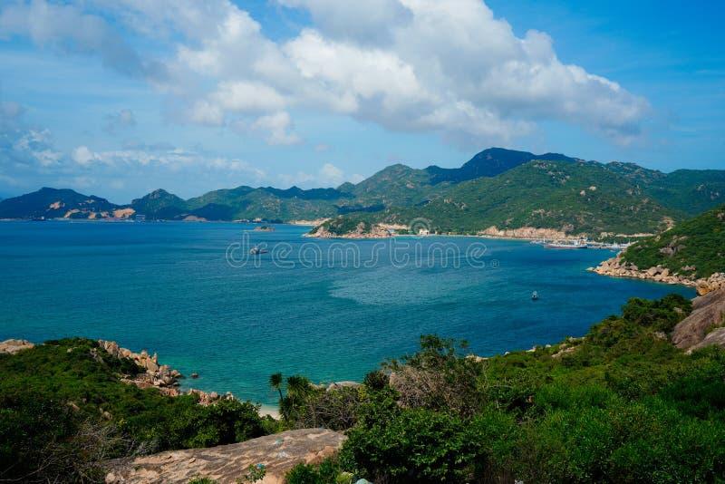 Playa de Ranh de la leva, Khanh Hoa, Vietnam imagenes de archivo