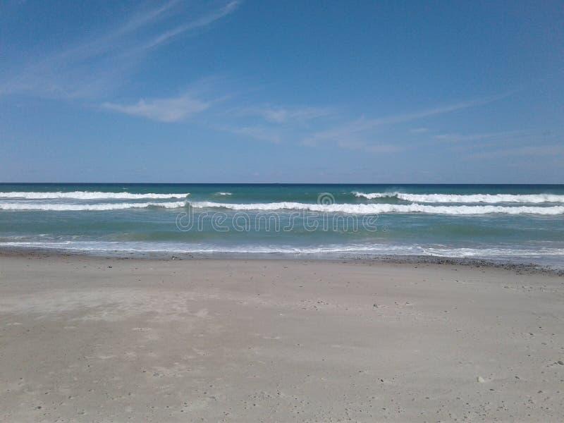 Playa de Rexhame imagen de archivo