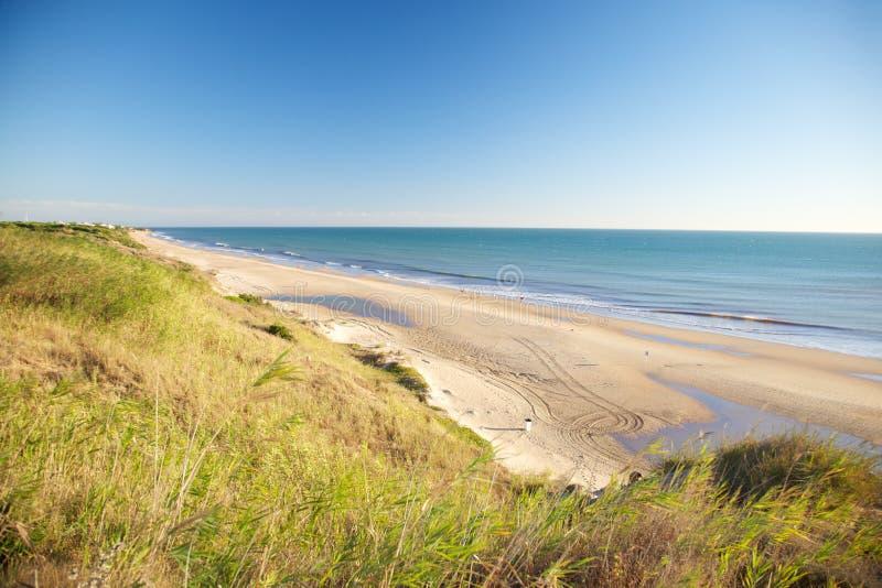 Playa de Roche imagenes de archivo