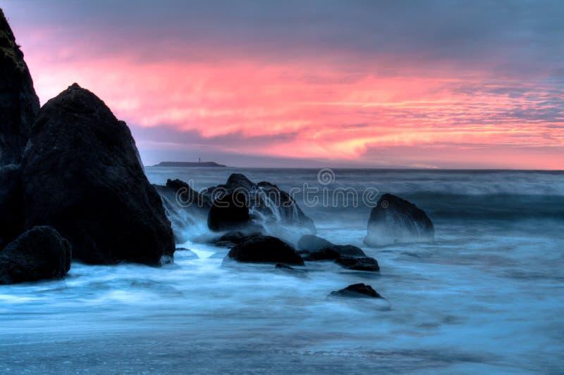 Playa de rubíes fotos de archivo libres de regalías