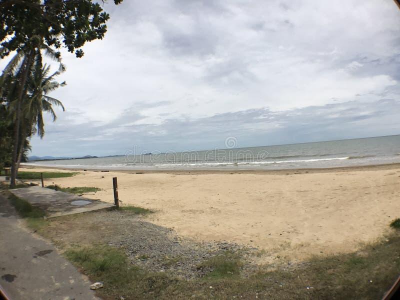 Playa de Sabah imagenes de archivo