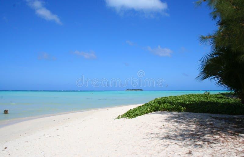Playa de Saipan imágenes de archivo libres de regalías