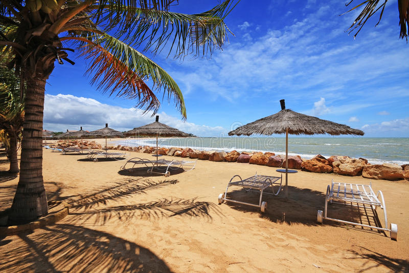 Playa de Saly en Senegal