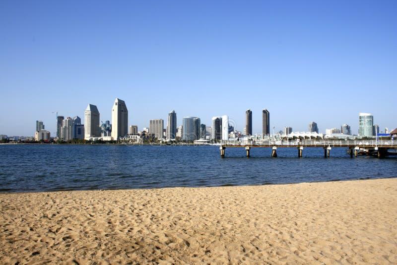 Playa de San Diego fotos de archivo