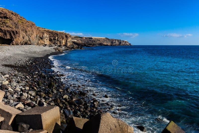 Playa De San Juan Tenerife obrazy royalty free
